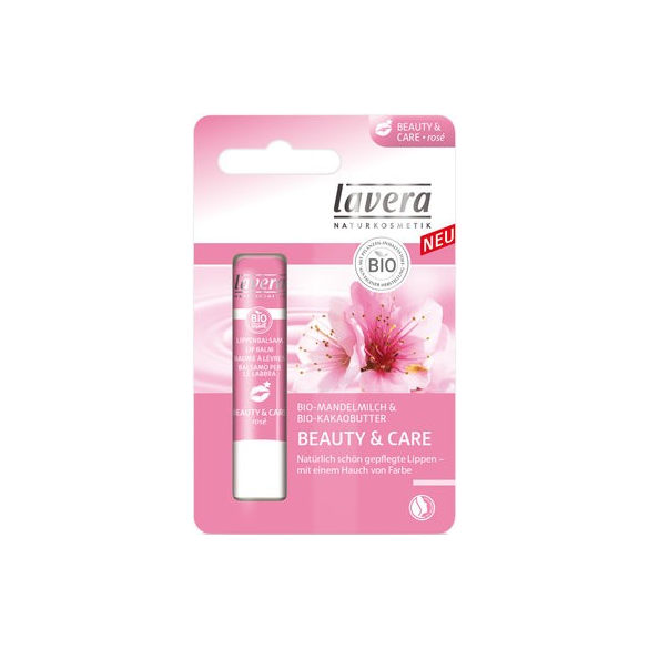 LAVERA Balsamo Labbra Beauty & Care Rosé
