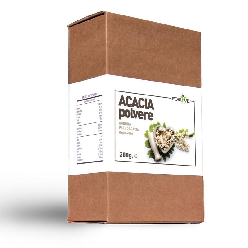 FORLIVE Fiori di Acacia in Polvere