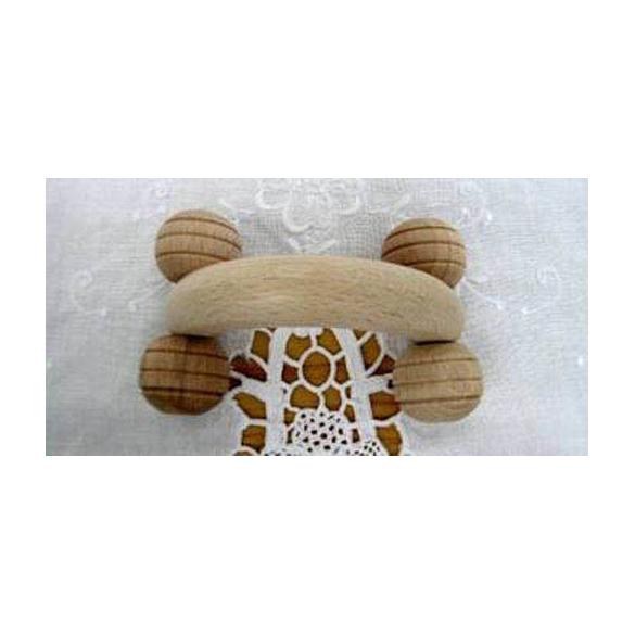 CARONE SNC Massaggiatore legno 4 ruote piccolo