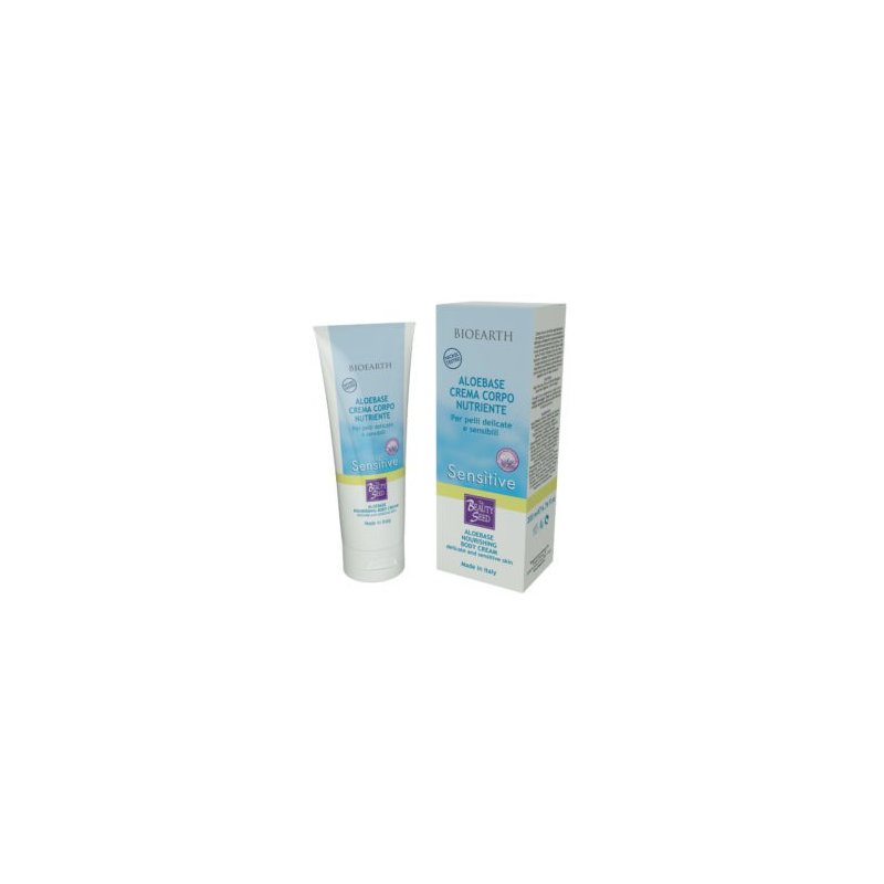 BIOEARTH Aloebase Sensitive Crema Corpo Nutriente