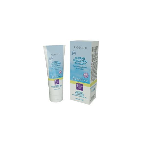 BIOEARTH Aloebase Sensitive Crema Corpo Idratante
