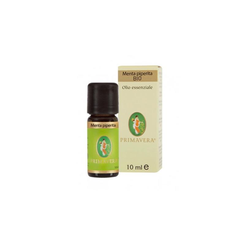 FLORA Menta piperita bio 10 ml olio essenziale itcdx