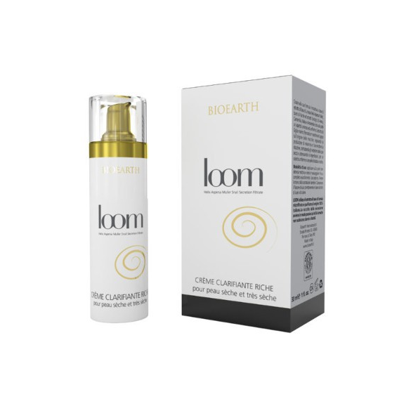 BIOEARTH, LOOM CREME CLARIFIANTE RICHE, 30 ML