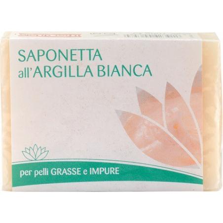 FIOR DI LOTO, SAPONETTA ARGILLA BIANCA 100 GR