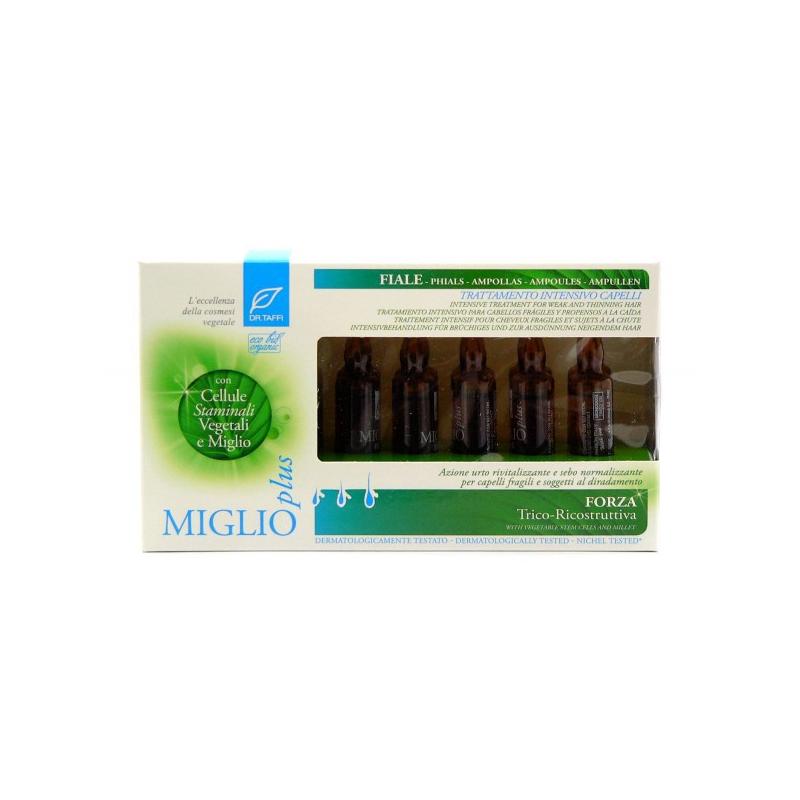 DR. TAFFI FIALE CAPELLI MIGLIO PLUS BIO 12 FIALE DA 10 ML