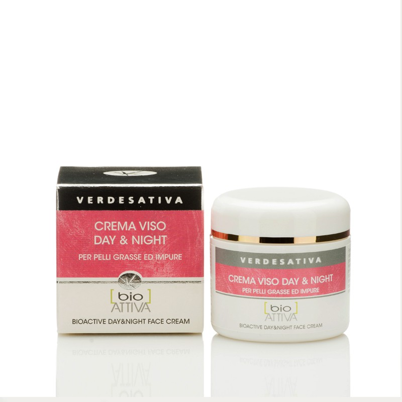CREMA VISO BIOATTIVA DAY & NIGHT 50 ML, VERDESATIVA