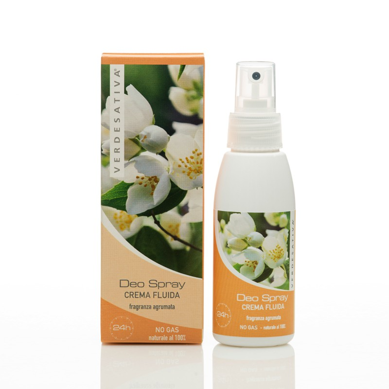 DEO SPRAY CREMA FLUIDA 100 ML, VERDESATIVA