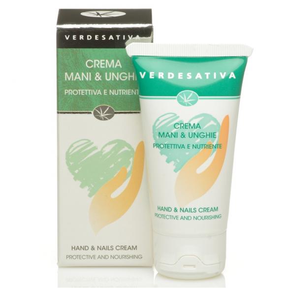 Verdesativa- crema mani e unghie effetto barriera 50 ml