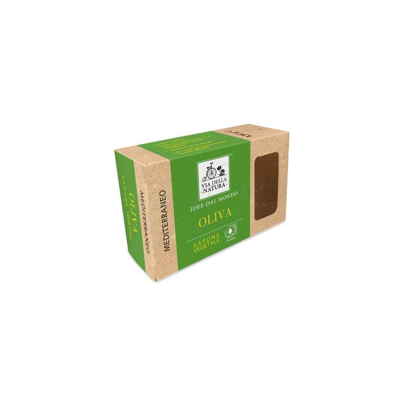 SAPONE 100% OLIVE MEDITERRANEO 150GR- VIA DELLA NATURA