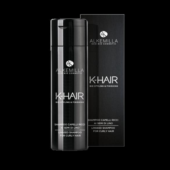 Alkemilla shampoo capelli ricci ai semi di lino