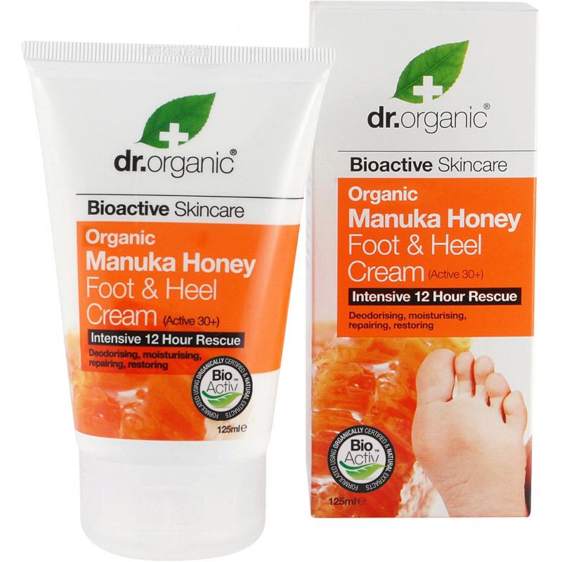 DR. ORGANIC MANUKA HONEY FOOTHELL CREAM 125 ML