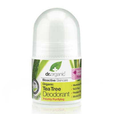 DR. ORGANIC Tea Tree Deodorant 50ml