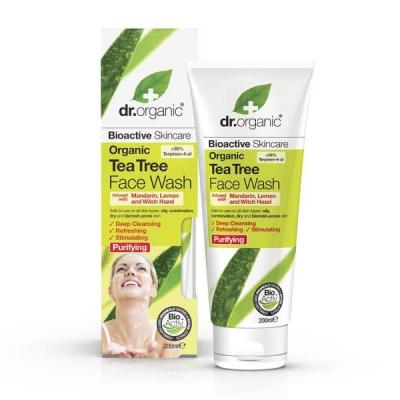 DR. ORGANIC Tea Tree Face Wash Detergente Viso200ml