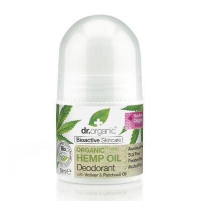 DR. ORGANIC Hemp Oil Deodorant Deodorante alla Canapa 50ml