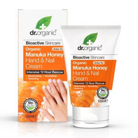 DR. ORGANIC Manuka Honey Hand Cream Crema mani e unghie 125ml