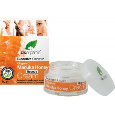 DR. ORGANIC Manuka Honey Rescue Cream Crema Riparatrice 50ml
