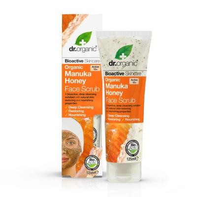 DR. ORGANIC Manuka Honey Face Scrub Viso 125ml