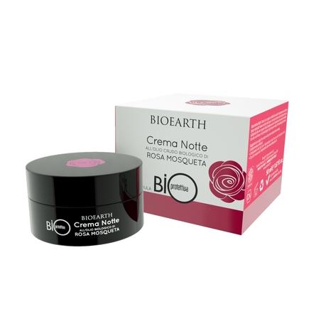 BIOEARTH - BioProtettiva Rosa Mosqueta Crema Notte