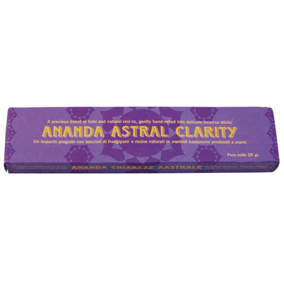 Incenso Ananda Clarity...