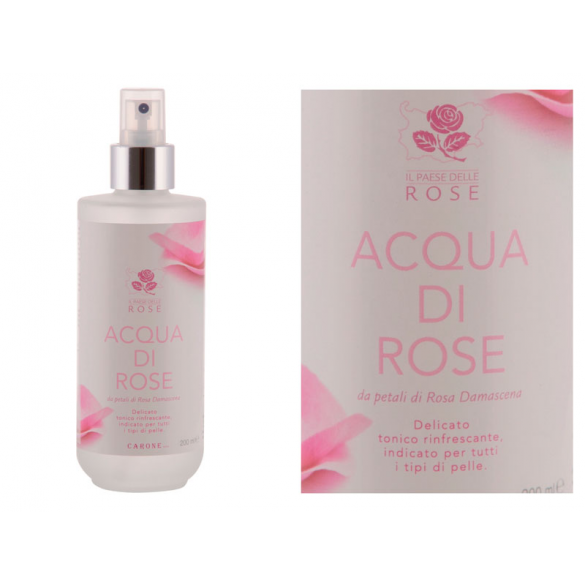 Carone acqua di rose...