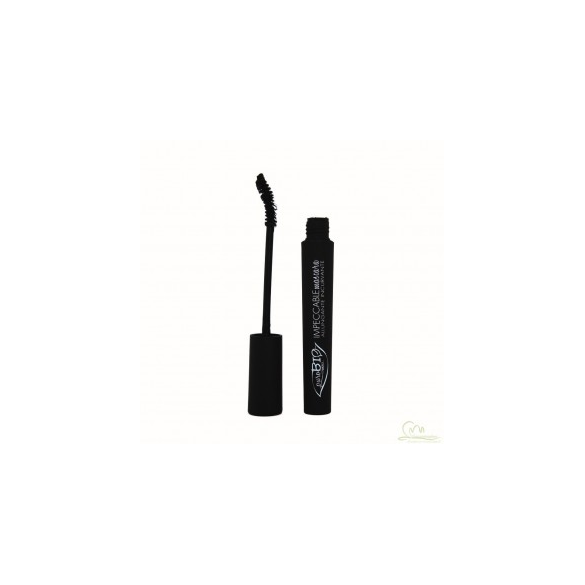 PUROBIOCOSMETICS MASCARA IMPECCABILE BIOLOGICO NERO 01