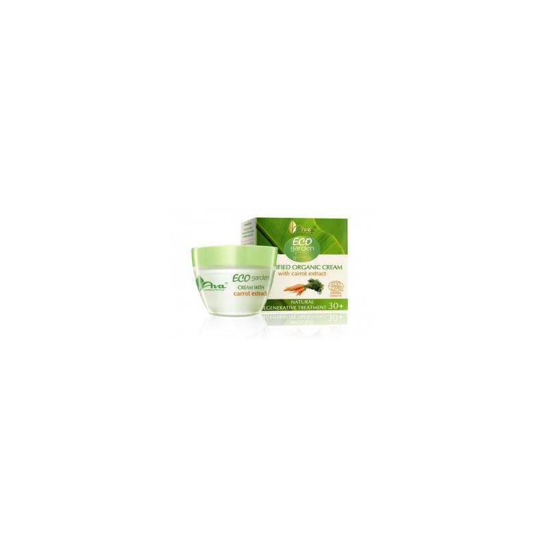 AVA LABORATORIUM Eco Garden Crema viso con estratto di carote