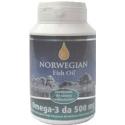 Norwegian Fish Oil - Olio di pesce norvegese - Omega-3 da 500mg