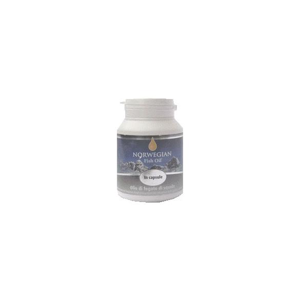 Norwegian Fish Oil - Olio di pesce norvegese - Olio di fegato di squalo in capsule