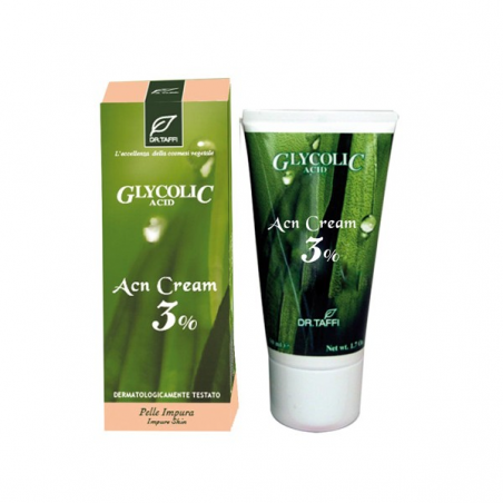 Dr. Taffi - Glycolic Acid Acn cream 3%